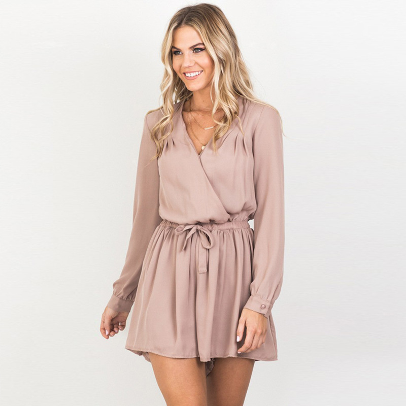 Plain Short Sleeved Rompers